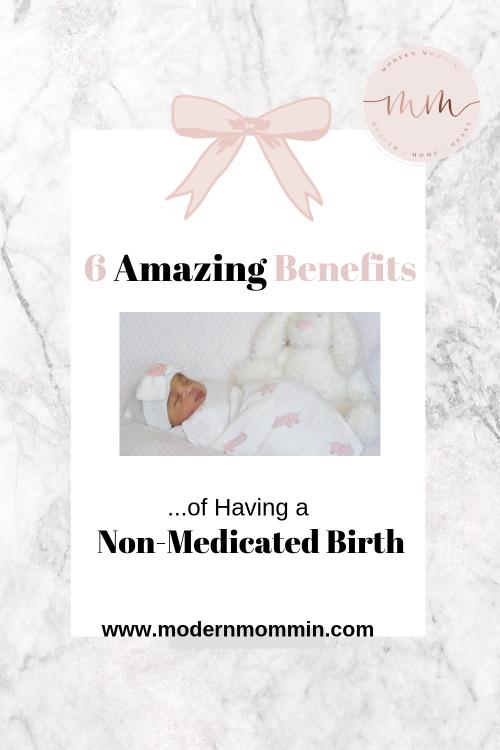 Natural Birth_ 6 Amazing Benefits of Having a Non-Medicated Birth