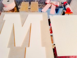 D.I.Y Decorative Nursery Letter_ Materials_ Modern Mommin