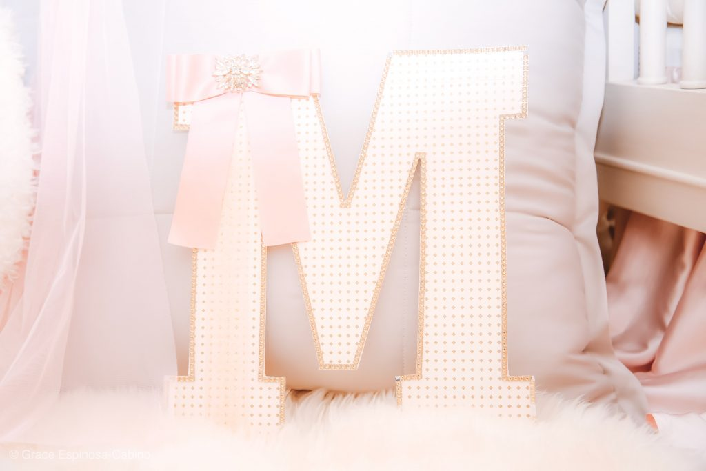 How to Make a DIY Decorative Nursery Letter