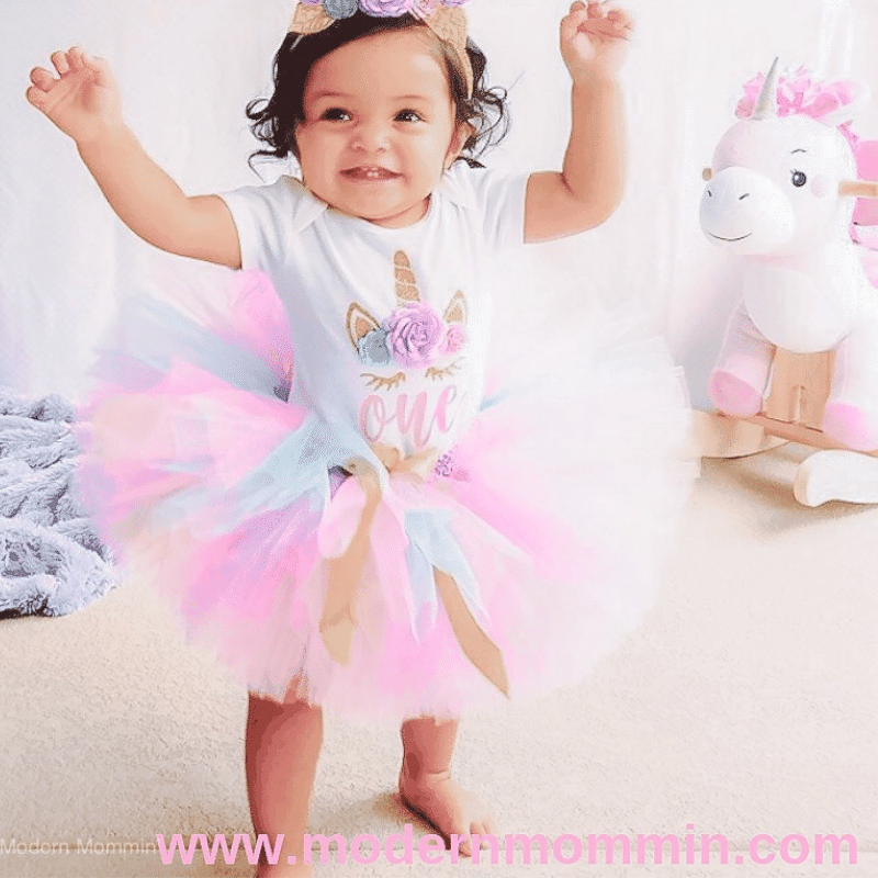 Mila's Magical Unicorn 1st Birthday Party