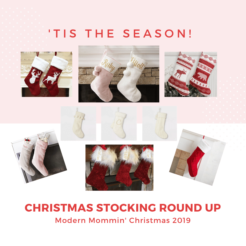 Modern Mommin' Round Up_Christmas Stocking _Featured Image